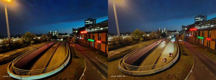 Vivo X51 5G Nachtmodus Ultraweit