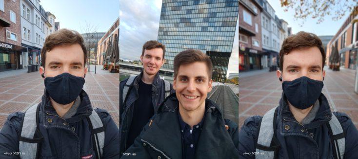 Vivo X51 5G Selfies