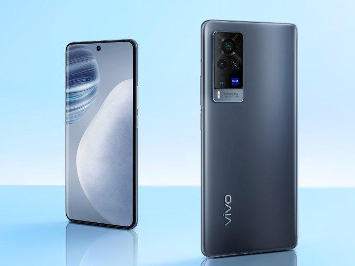Vivo X60 Pro Smartphone Design Grau