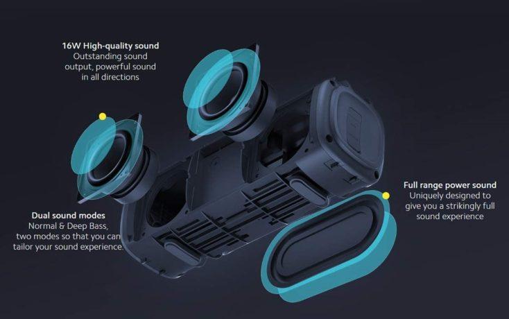 Xiaomi Mi Portable Bluetooth Lautsprecher Treiber