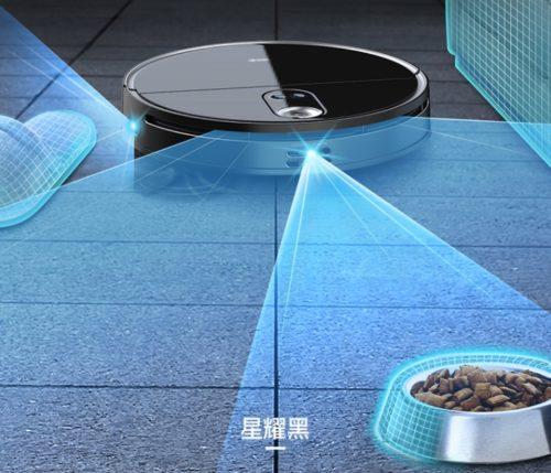 360 X100 Saugroboter 3D Hinderniserkennung
