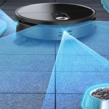 360 X100 Saugroboter 3D-Hinderniserkennung Futternapf