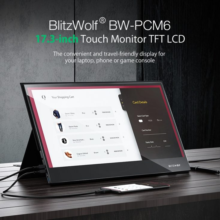BlitzWolf BW PCM6 Monitor
