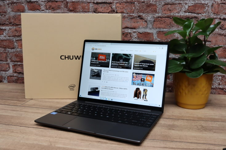 CHUWI GemiBook Pro Notebook von vorne