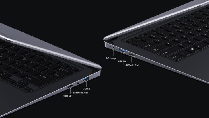 CHUWI HeroBook Plus Notebook Anschluesse