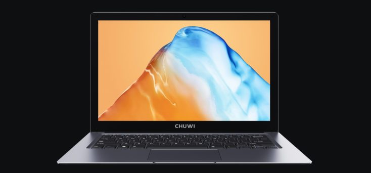 CHUWI HeroBook Plus Notebook Front
