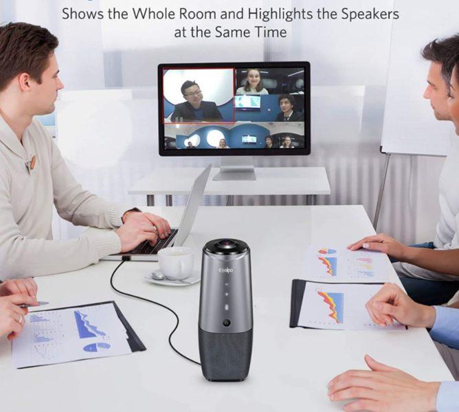 COOLPO 360 Videokonferenzkamera Meeting