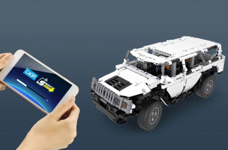 CaDA Gelaendewagen App Steuerung 1