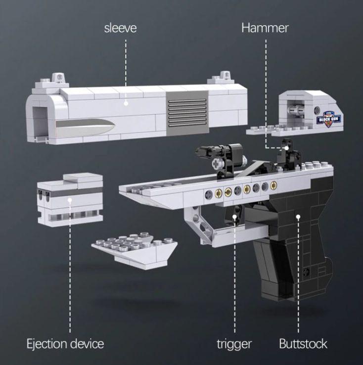 CaDA Pistole Einzelteile