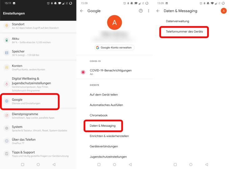 Google Einstellungen Telefonnummer scaled 1