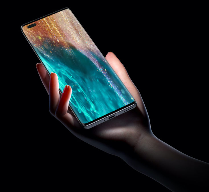 Honor V40 Smartphone Display