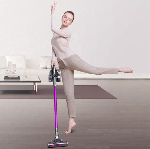 Jimmy H8 Pro Akkustaubsauger Werbung Ballett