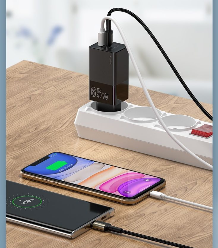 KUULA 65W USB-C Ladegeraet Laden