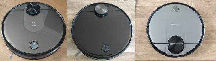 Proscenic M6 Pro Saugroboter Vergleich Viomi V2 V3