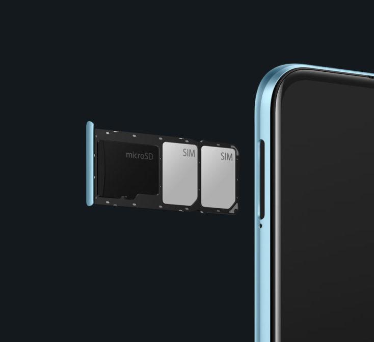 Realme 7i Smartphone SIM-Slot