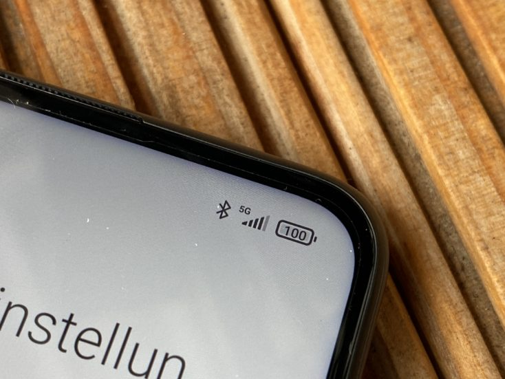 Redmi Note 9T 5G Empfang 1