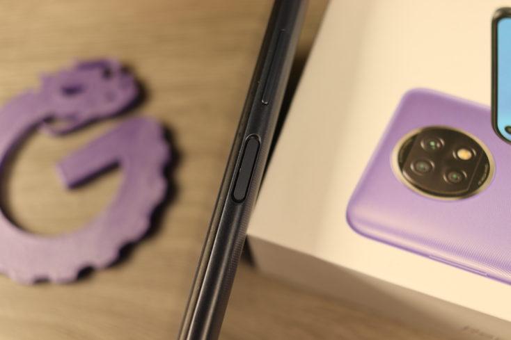 Redmi Note 9T Fingerabdrucksensor