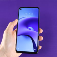 Redmi Note 9T Smartphone in Hand 2