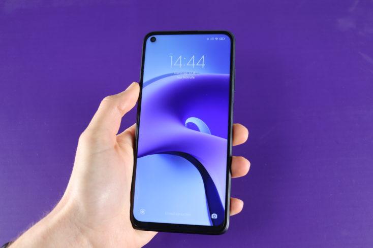 Redmi Note 9T Smartphone in Hand 2