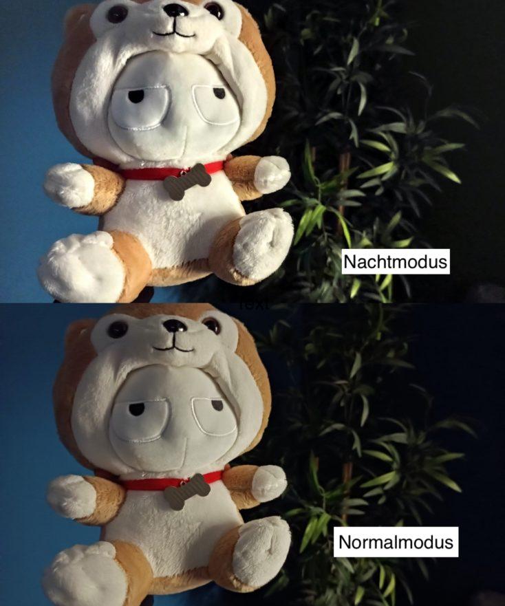 Redmi Note 9T Testfoto Nachtmodus Vergleich