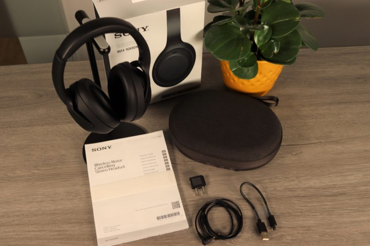 Sony WH 1000XM4 Lieferumfang
