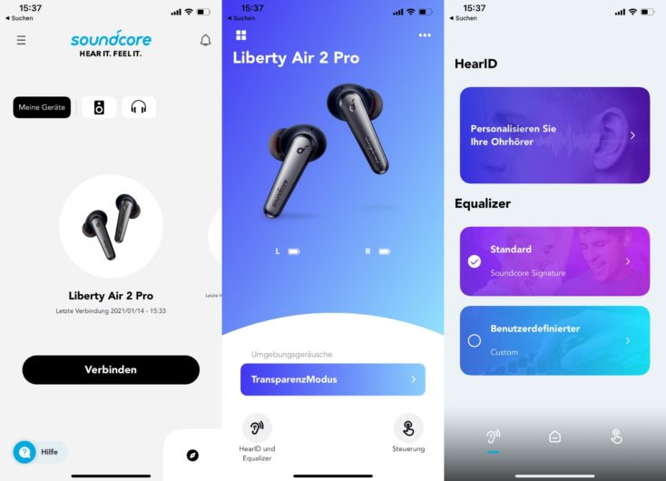 Soundcore App Collage 1