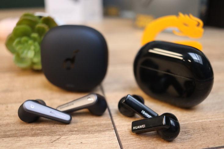Soundcore Liberty Air 2 Pro und Huawei Freebuds Pro