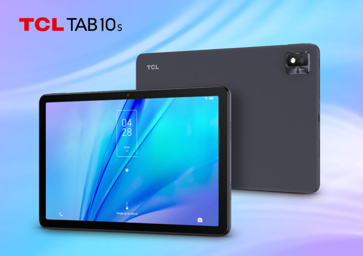 TCL TAB 10S Tablet Design