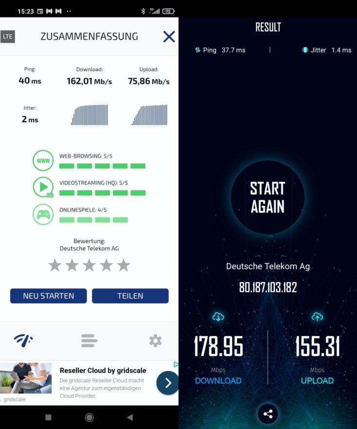 Telekom 5G Leverkusen Test