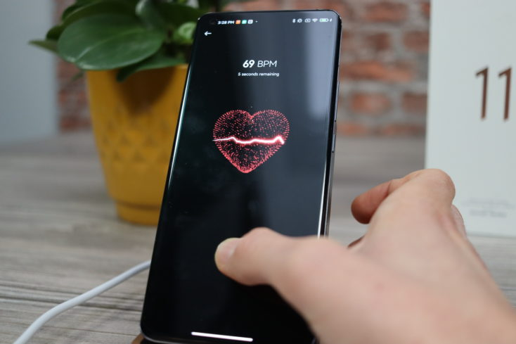 Xiaomi Mi 11 Pulsmesser