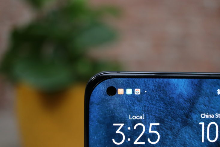 Xiaomi Mi 11 Punch Hole Display