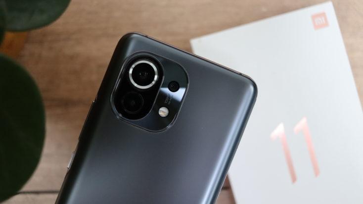 Xiaomi Mi 11 Rueckseite Slider