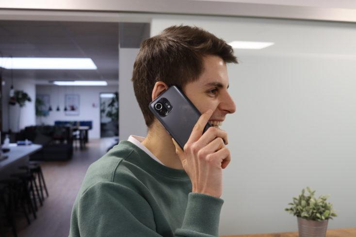 Xiaomi Mi 11 Telefonieren