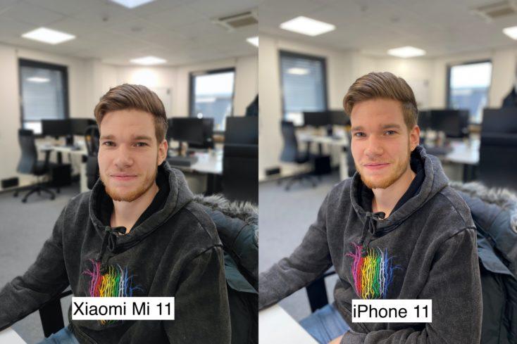 Xiaomi Mi 11 Testfoto Portraitmodus Person 2