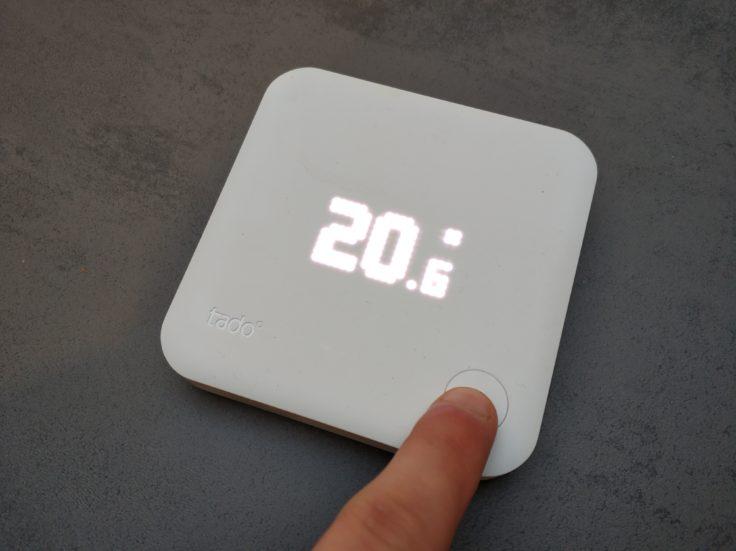 tado smartes Thermostat Funk-Temperatursensor