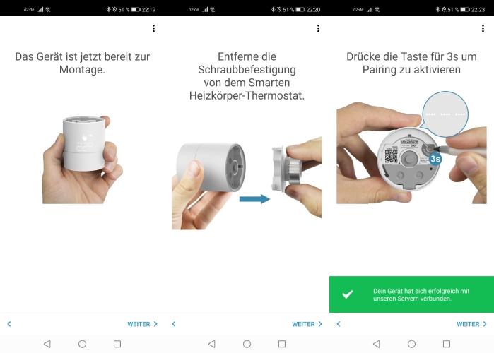 tado smartes Thermostat App Einbindung Heimnetzwerk