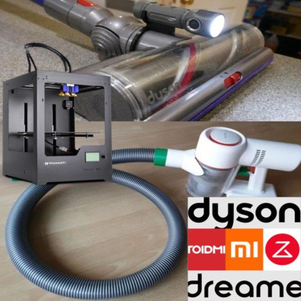 Akkusauger 3D-Druck Tuning Lösungen Optimierungen
