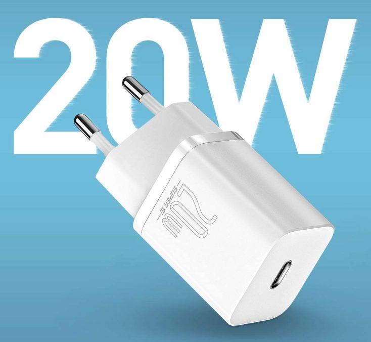 Baseus 20W USB-C Ladegeraet 20W