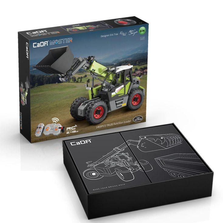 CaDA C61051W Bagger Verpackung/Karton
