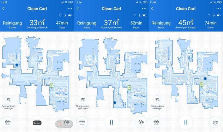 Ecovacs Deebot N8 Pro Saugroboter App Mapping