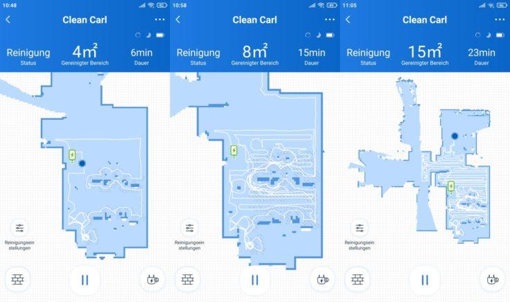 Ecovacs Deebot N8 Pro Saugroboter App Mapping Beginn