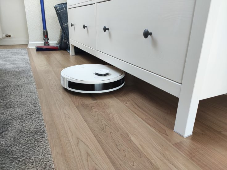 Ecovacs Deebot N8 Pro+ Saugroboter Maße Höhe