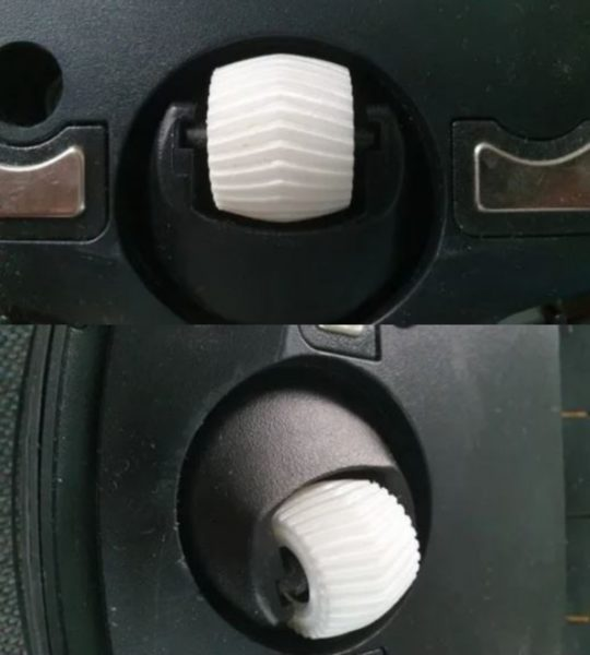 Ecovacs Deebot Vorderrad tunen Saugroboter 3D Drucker Vorrichtung