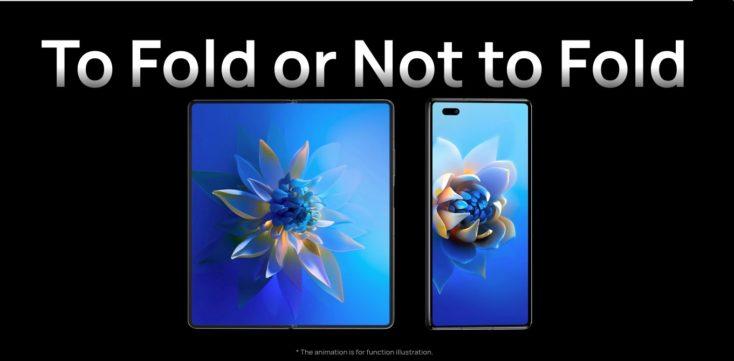 Huawei Mate X2 Displays