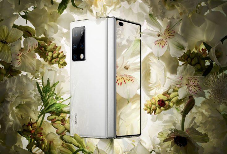 Huawei Mate X2 Foldable Smartphone Design