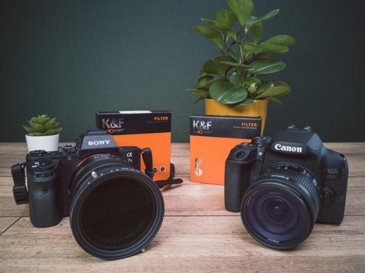 KF Concept Filter auf Kamera