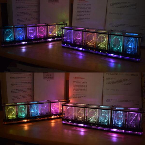 LED Uhr Performance