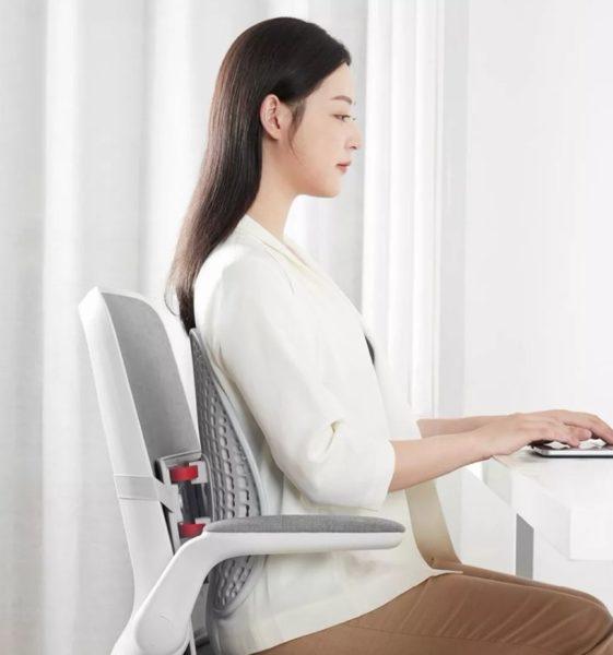 Leband Rueckenlehne richtige Sitzposition