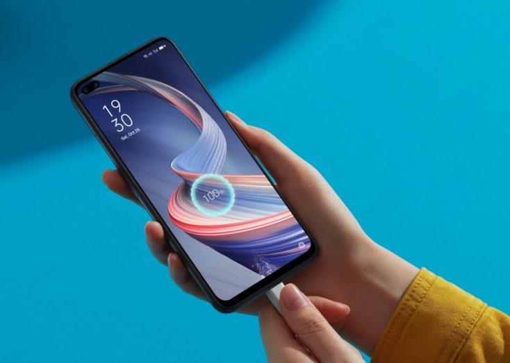 OPPO Reno4 Z 5G Smartphone Laden