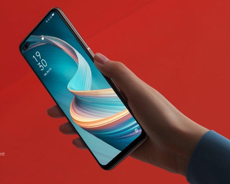 OPPO Reno4 Z 5G Smartphone in Hand